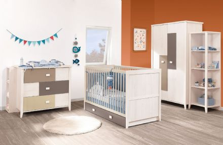 Charly Customisable Cot + Little bed Conversion Set